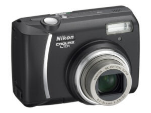 Nikon Coolpix L101 LP - 6,2 MP, 5x zoom