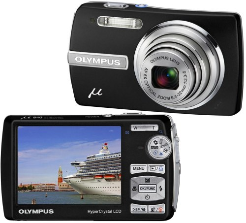Olympus Mju 840 Midnight Black