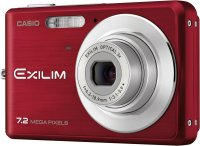 Casio EXILIM Zoom EX-Z77 Red